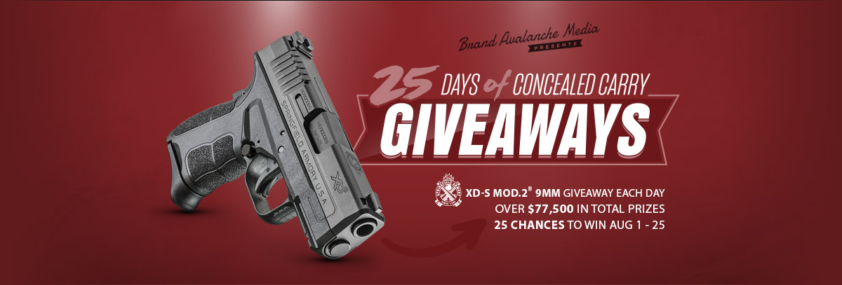 Gun giveaways contests